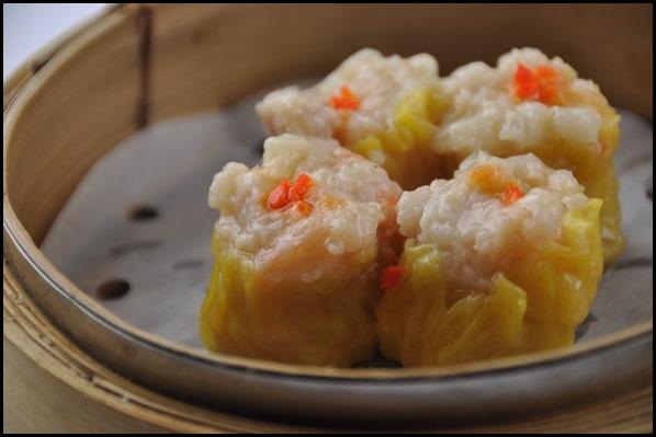 Minced Pork Dumplings with Shrimp