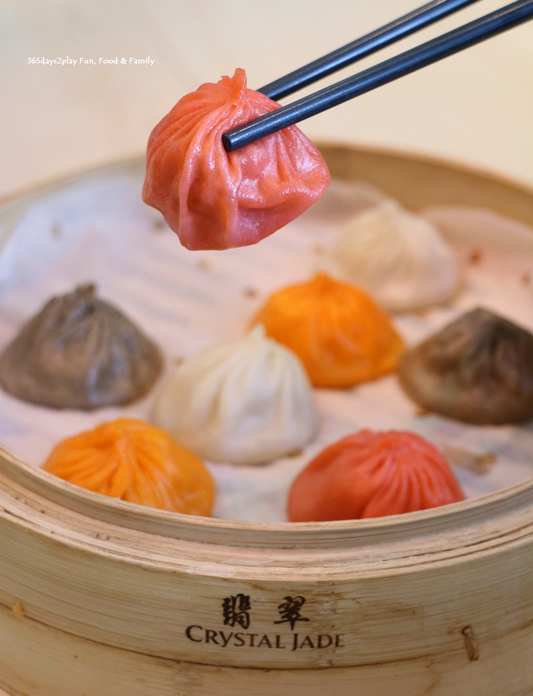 Crystal Jade La Mian Xiao Long Bao - Signature Assorted XLB (Original, Salted egg yolk, Chilli crab & Black truffle)