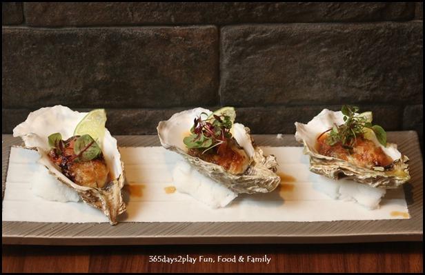 Teppan Kappou Kenji - Japanese Oysters from Mie prefecture, ($22, 3 pcs) (1)