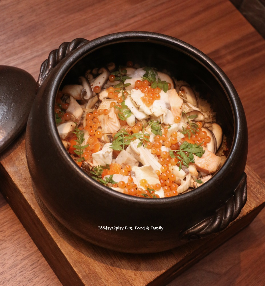 Teppan Kappou Kenji - Seasonal Kamameshi ($28)