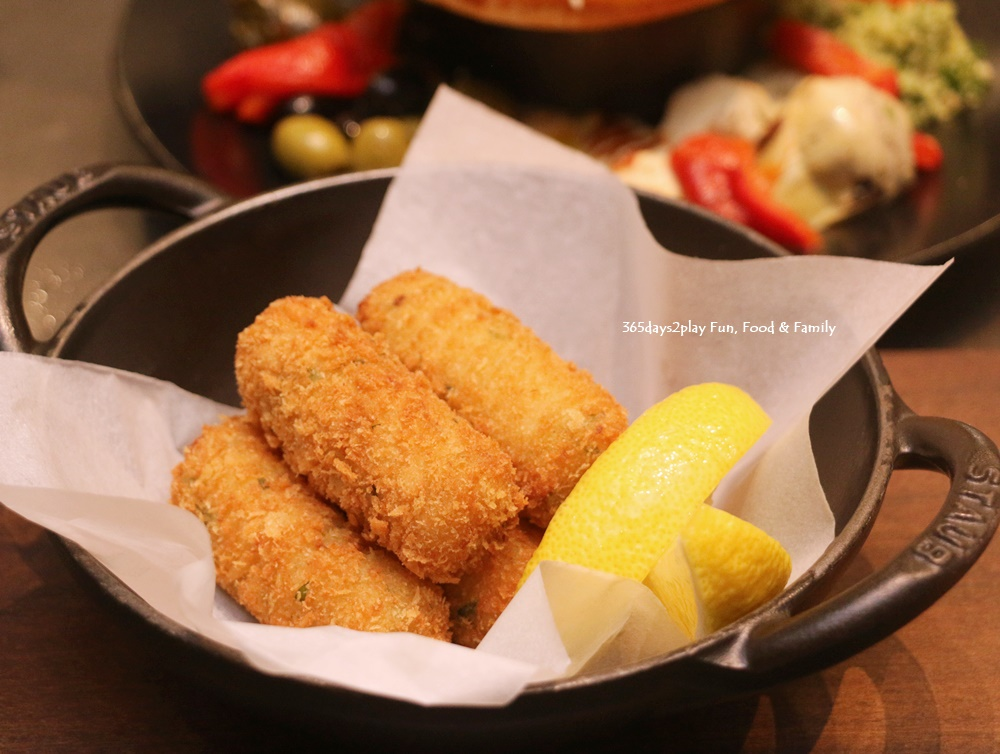 Marriott Crossroads Cafe - Cod Fish Croquettes (5 pieces) - $18