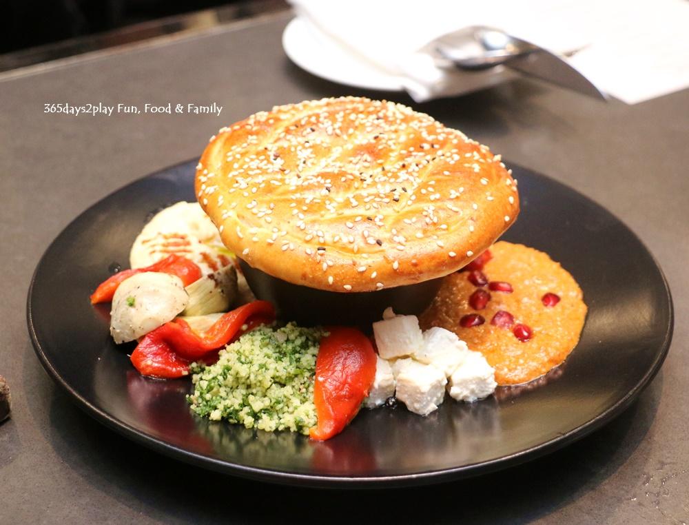 Marriott Crossroads Cafe - Mezze Platter $24