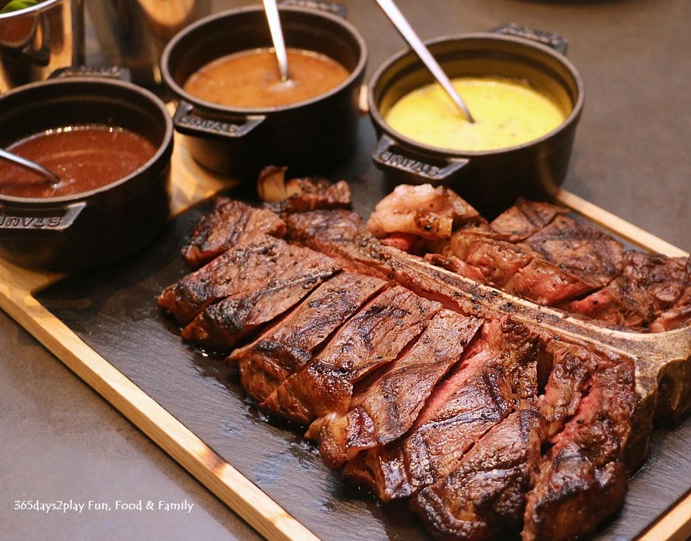 Marriott Crossroads Cafe - Steak Frites T-Bone (900gm-1kg) - $168
