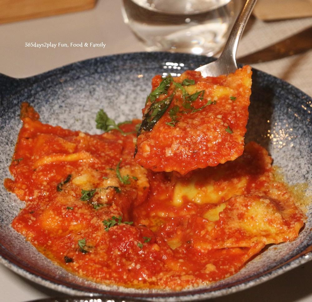 Roots Mediterranean - Tortelli with Ricotta Spinach -S$20 (2)