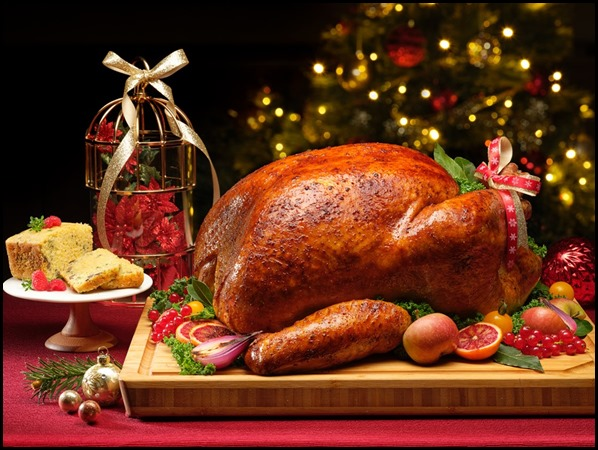 Whole Roast Turkey with Apple Cider Brine _ Giblet Cornbread Loaf