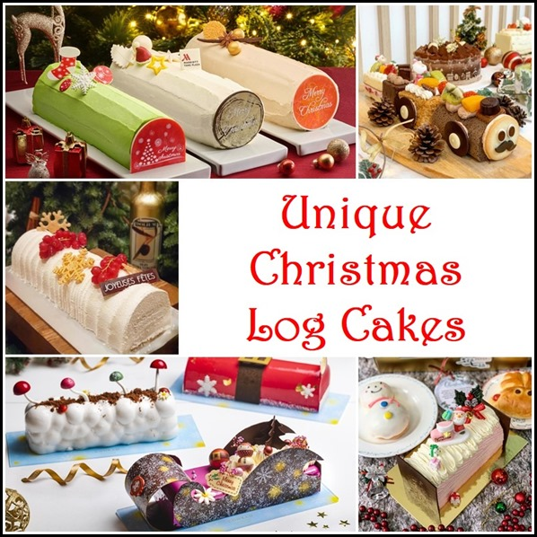Christmas Log Cake Compilation