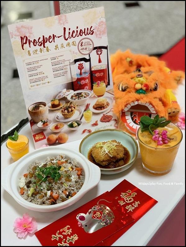 Millenia Walk - Elemen Restaurant Chinese New Year (1)
