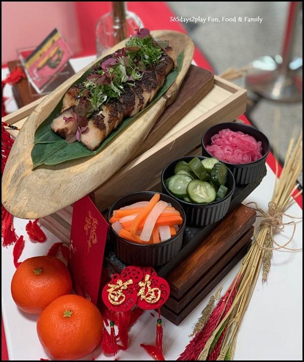 Millenia Walk - Plentyfull Abundance Char Siew Pork Jowl with House-Pickle