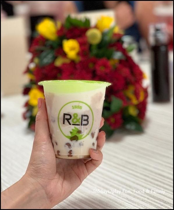 Millenia Walk - R&B Tea Taro Fresh Milk with Taro Balls $5.90