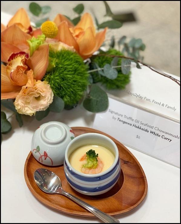 Millenia Walk - Tengawa Hokkaido White CurryTruffle Oil Seafood Chawan Mushi