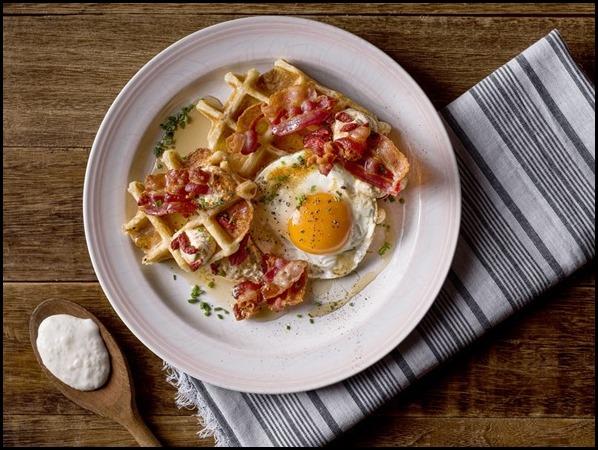 100_ Sourdough Waffle