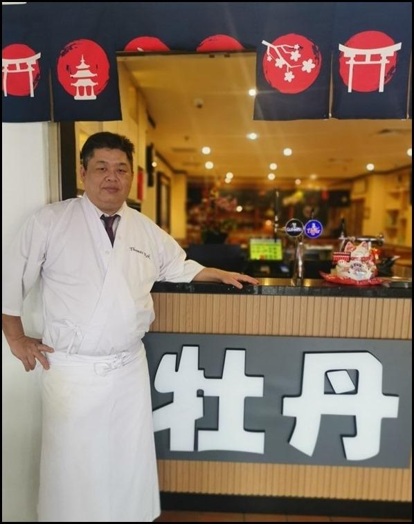 Botan Executive Chef, Thomas Kok