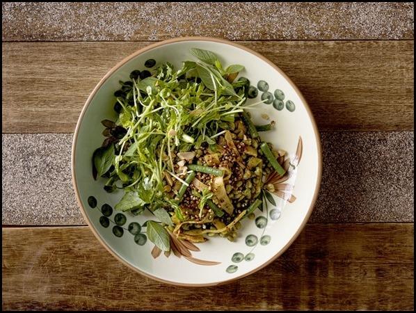 Chayote Kimchi _ Mung Bean Salad