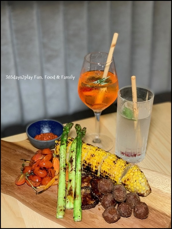 Cicada - Grilled Vegetable Platter