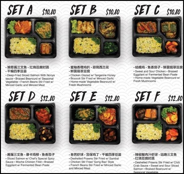 JUMBO Seafood Bento Boxes