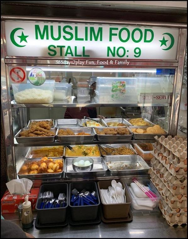 Jalan Benaan Kapal Food Centre Nasi Lemak Stall no 9