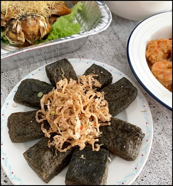 The Famous Kitchen - Charcoal Beancurd